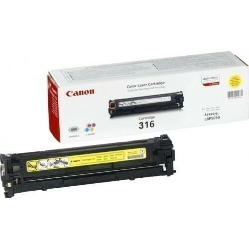 Canon 316 Yellow Toner Cartridge