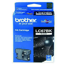 Brother LC67 Ink Cartridge, Black