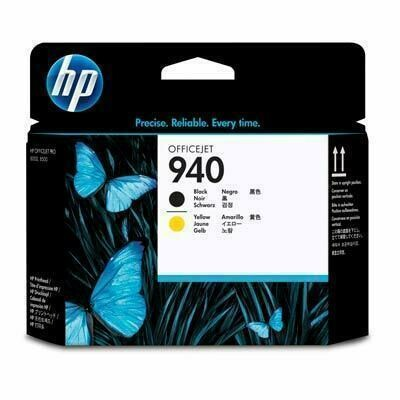 HP 940 Black & Yellow Printhead, C4900A