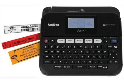 Brother PT D450 PC Connectable barcode Label Printer