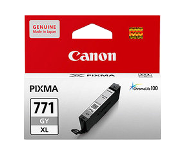 Canon 771XL Ink Cartridge, Gray