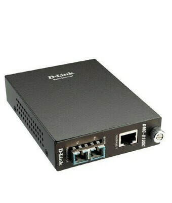 D-Link DMC-810SC Gigabit Ethernet Media Converters