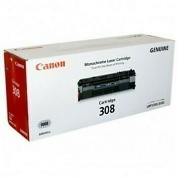 Canon 308 Toner Cartridge, Black