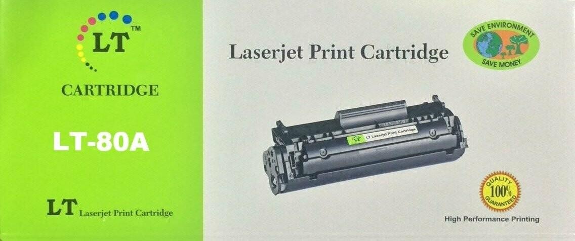 LT 80A Toner Cartridge, Black, CF280A