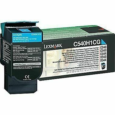 Lexmark C540H1MG High Magenta Toner Cartridge