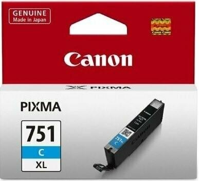 Canon 751XL Ink Cartridge, Cyan