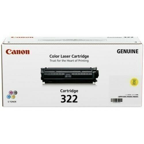 Canon 322 Yellow Toner Cartridge
