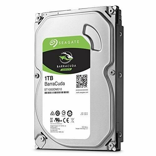 Seagate 1TB BarraCuda Sata Desktop Internal Hard Drive