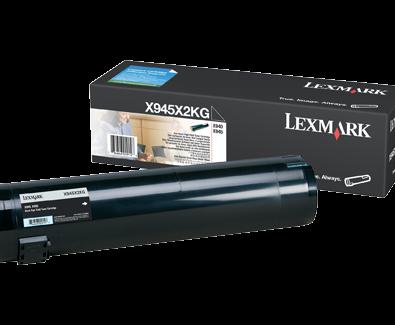 Lexmark X945X2KG Black High Yield Toner Cartridge
