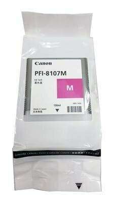 Canon PFI-8107M Ink Cartridge, Magenta, 130ml