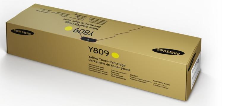 Samsung CLT-Y809S Yellow Toner Cartridge