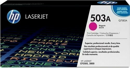 HP Q7583A 503A Magenta Toner Cartridge