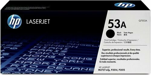 HP 53A Toner Cartridge, Black
