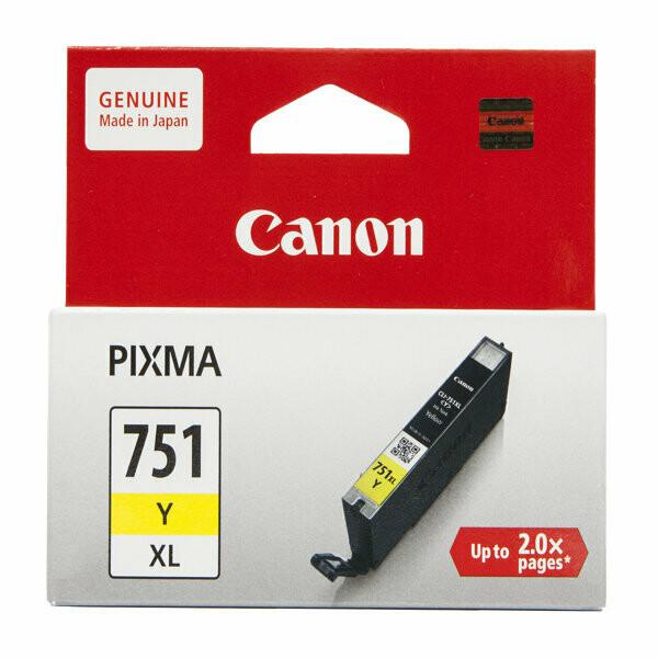 Canon 751XL Ink Cartridge, Yellow