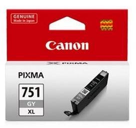 Canon 751XL Ink Cartridge, Gray