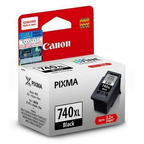Canon 740XL Ink Cartridge, Black