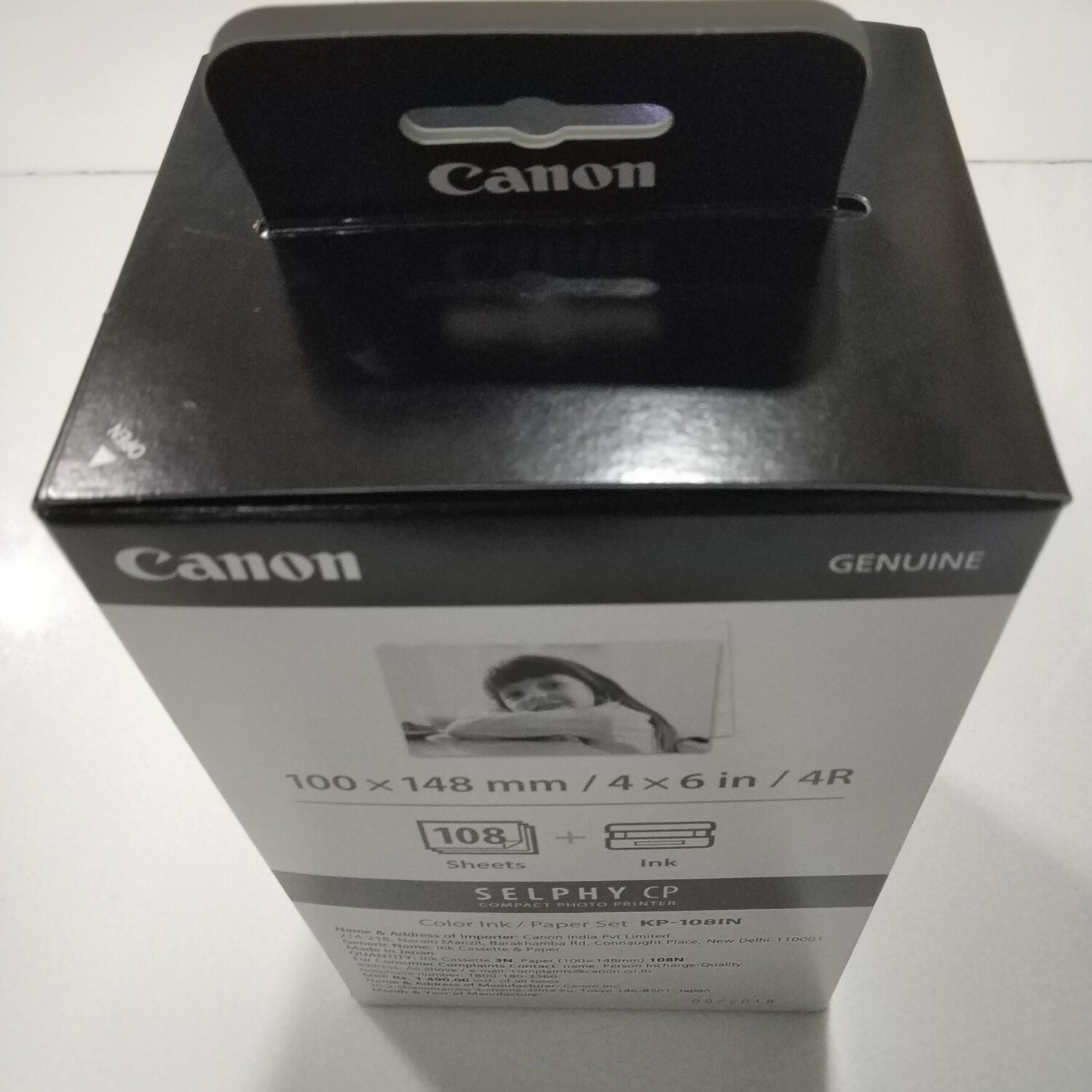 Canon KP-108IN Paper & Color ink Cartridge