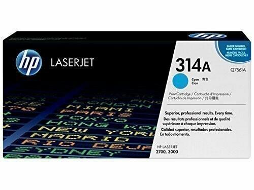 HP Q7561A 314A Cyan Toner Cartridge