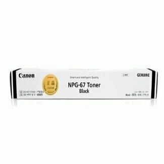 Canon NPG-67 Toner Cartridge, Black