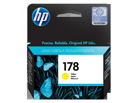 HP 178 Ink Cartridge, Yellow