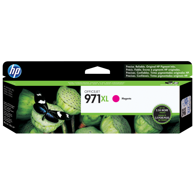 HP 971XL Ink Cartridge, Magenta