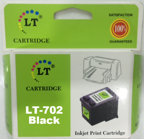 LT 702 Ink Cartridge, Black