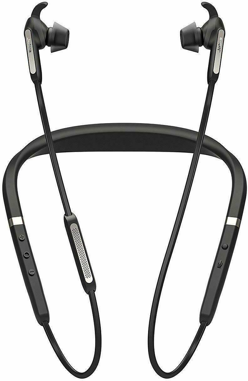 Jabra Elite 65e Wireless Bluetooth Headphones Titanium Black