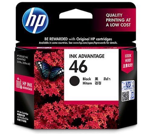 HP 46 Ink Cartridge, Black