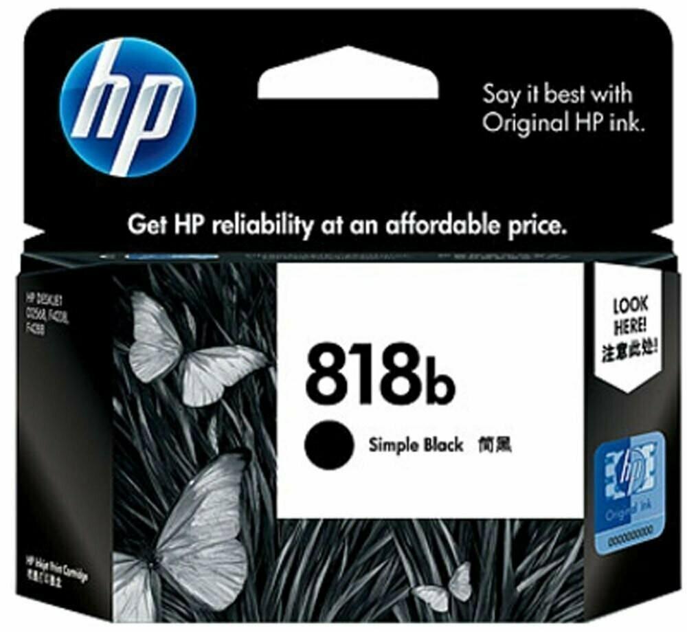 HP 818B Simple Ink Cartridge, Black