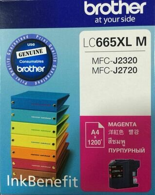 Brother LC665XL Ink Cartridge, Magenta