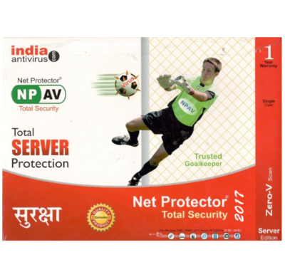 1 Server, 1 Year, Net Protector Server Protection
