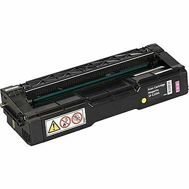 Ricoh SP C220 / C221 / C222 / C240, 406044,  Yellow Toner Cartridge