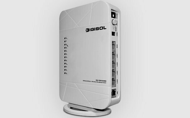 Digisol DG-VG4300NU Wireless VDSL2/ADSL2 Router