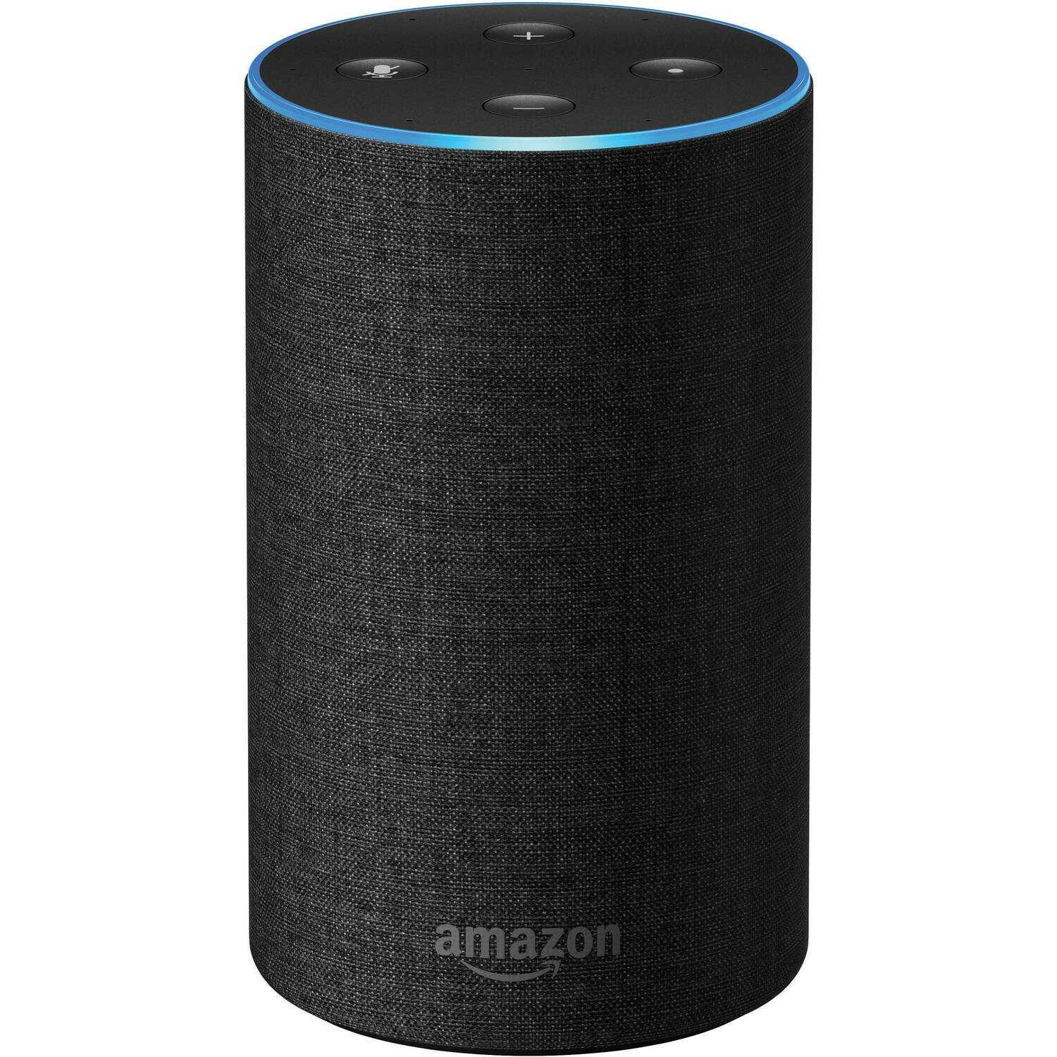 Amazon Echo 2nd Gen, Powered by Dolby, Black