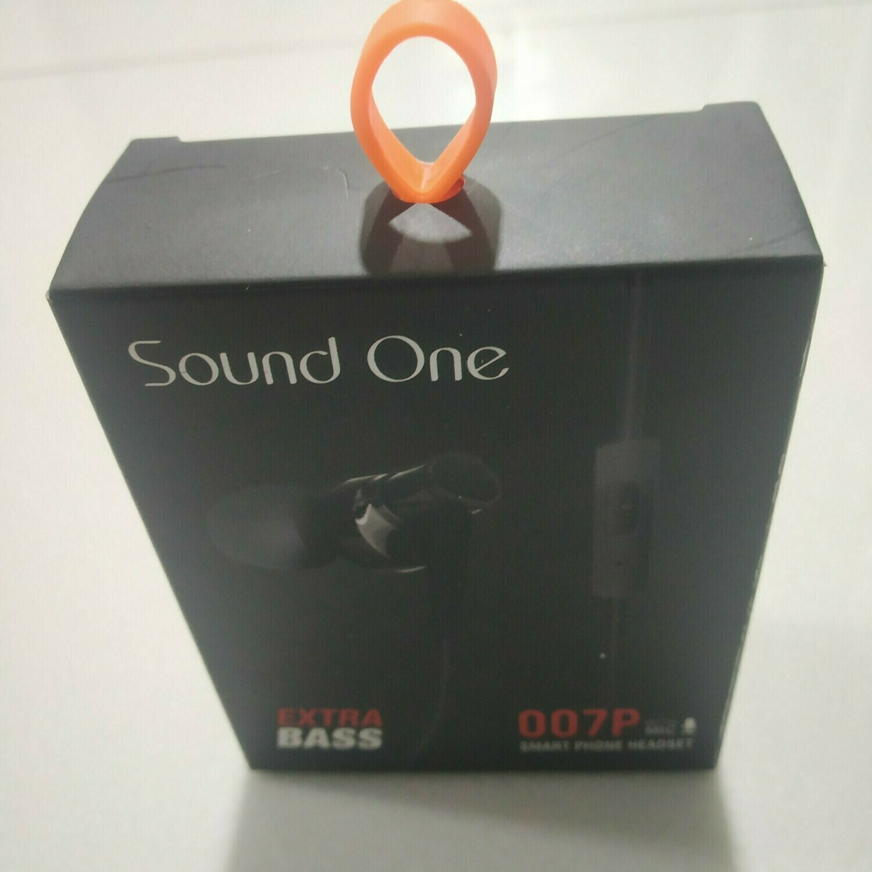 Sound One 007p Extra Bass Headset
