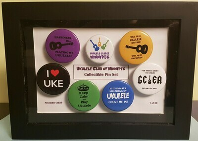 UCW Collectible Pin Set
