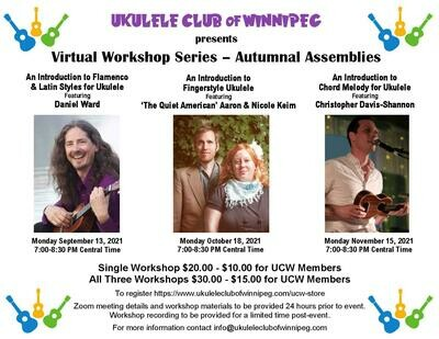 Virtual Workshop Autumnal Assembly 3 Pack