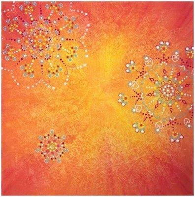 Fleur cosmique , Orange Pétillante