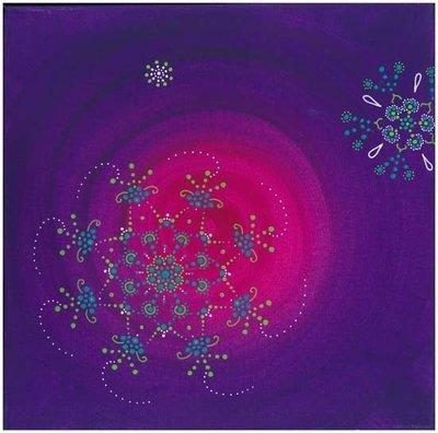 Fleur cosmique , Fleur Violette