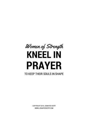 Women of Strength Printable
