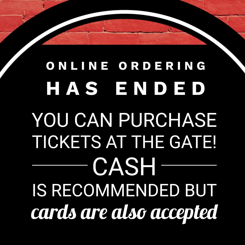 Advance Tickets- FIHA