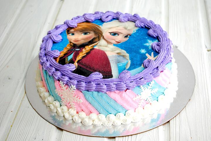 Торт подарочный с фотопечатью от 2кг