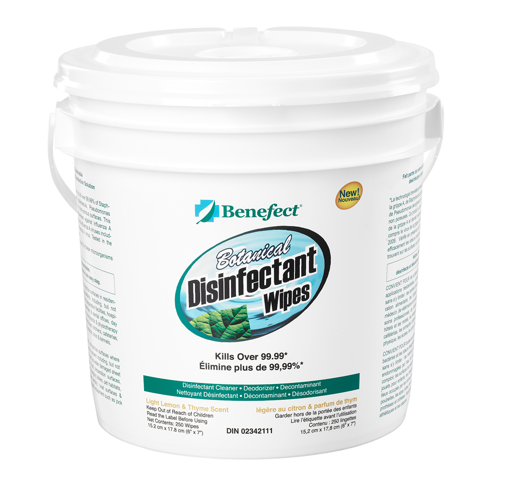 Benefect Disinfectant Wipes 20376
