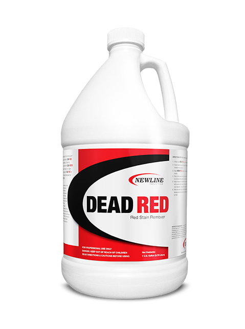 Dead Red (Gallon) by NewLine  |  Premium Red Stain Remover NL420