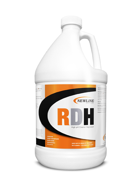 Roof, Deck and Hood Cleaner (Gallon) by NewLine  |  Heavy Duty Cleaner and Degreaser NL611