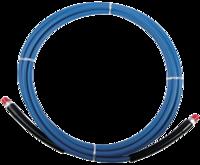 "High Pressure Solution Hose - 1/4"" x 100' - Blue 100'EAGLE HOSE"