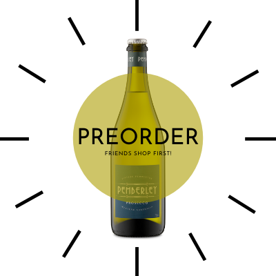 PREORDER - NV Pemberley Prosecco (Case of 12)
