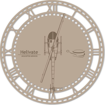 Helivate Clock