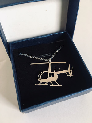 Robinson Helicopter Necklace