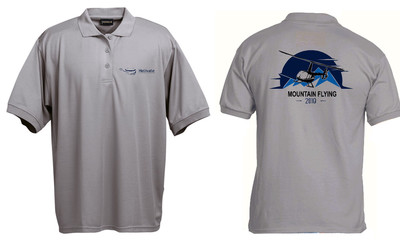 Helivate Limited Edition Mountain flying Golf Shirt